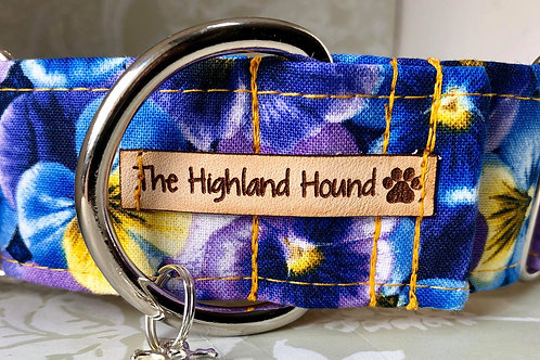 """Pansy 2"""" Large Martingale Collar"""