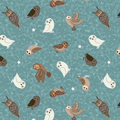 Bluebell Owls Seatbelt