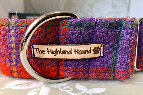 "Highland Fling 2"" Martingale Collar"