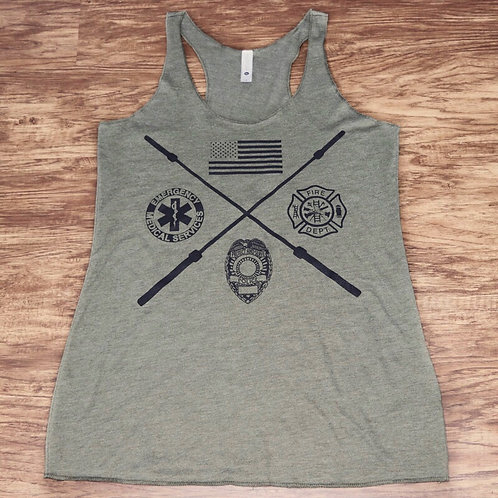 Respond Stronger Military Tank Top