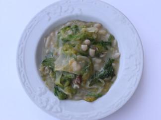 Zuppa di Fagioli Cannellini e Scarola