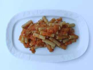 Maccheroni Zucca e Salsiccia