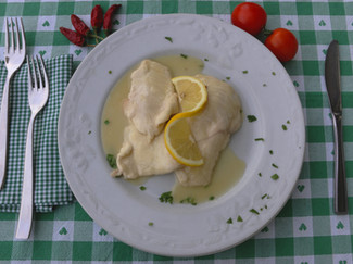 Scaloppine di Pollo a Limone