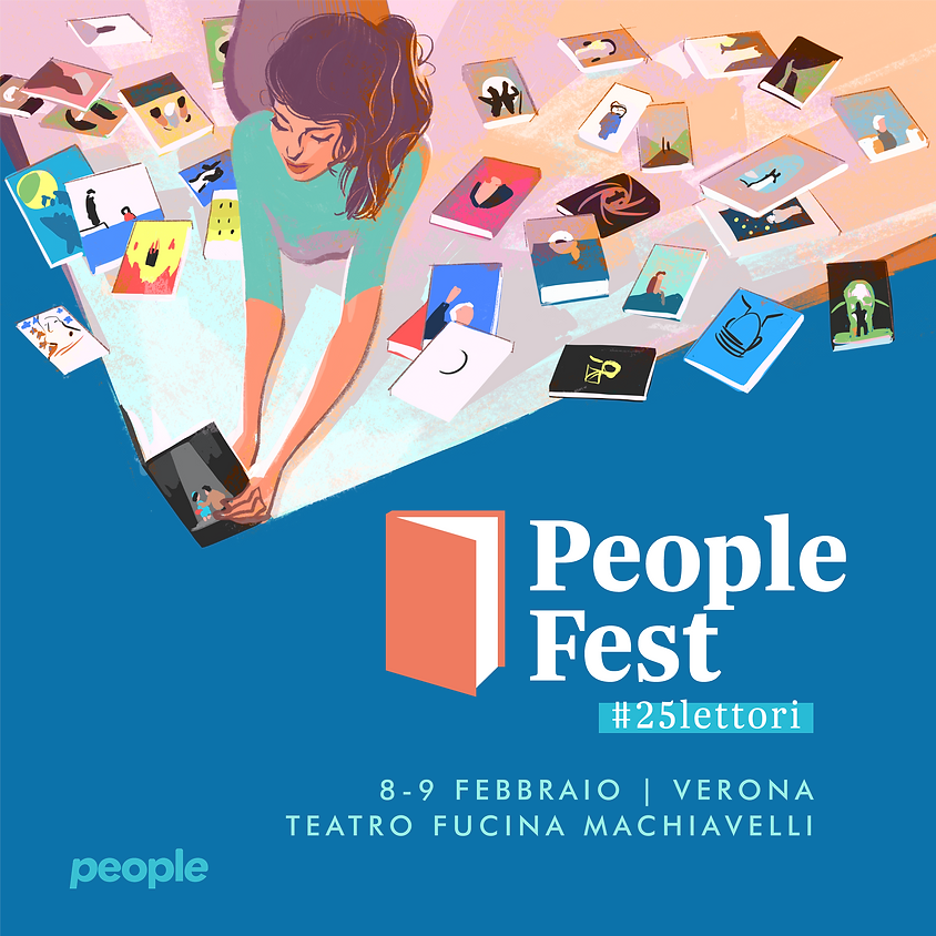 PEOPLE FEST #25lettori  |  Verona