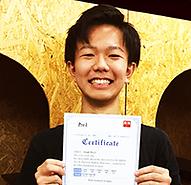 英検準1級に合格した八王子教室の高校生生徒