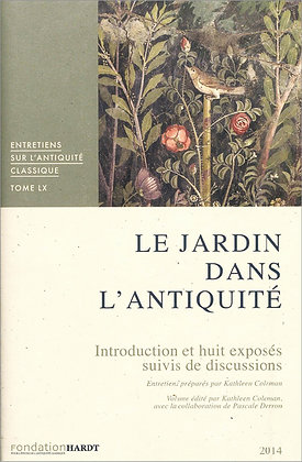 VOL. 60 LE JARDIN DANS L'ANTIQUITÉ