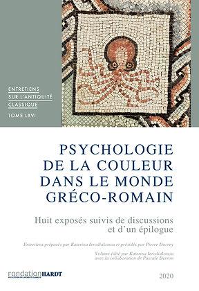 VOL. 66  Psychologie de la couleur dans le monde gréco-romain