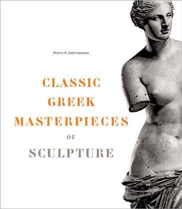CLASSIC GREEK MASTERPIECES OF SCULPTURE (hardback)