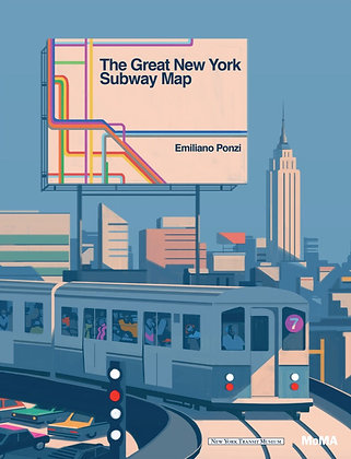The Great New York Subway Map Book