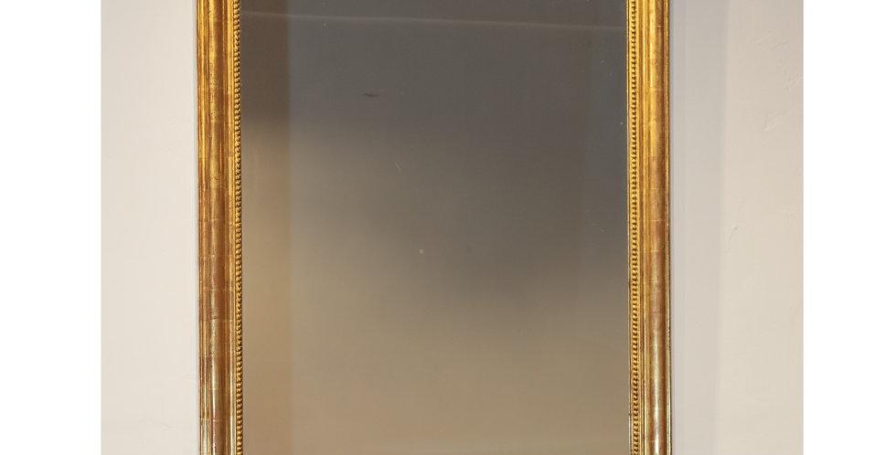 Mid 19th Century French Gilt Framed Mirror