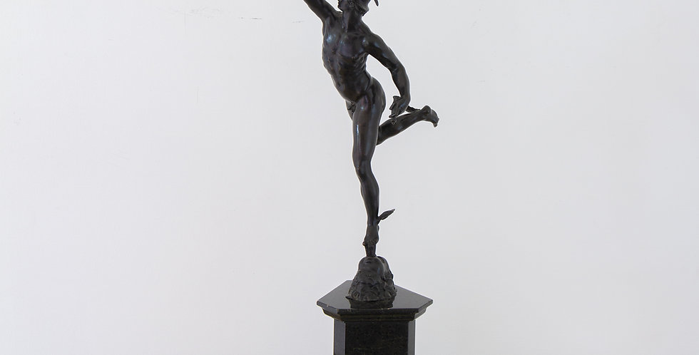 An 19th Century Grand Tour Bronze of Mercury