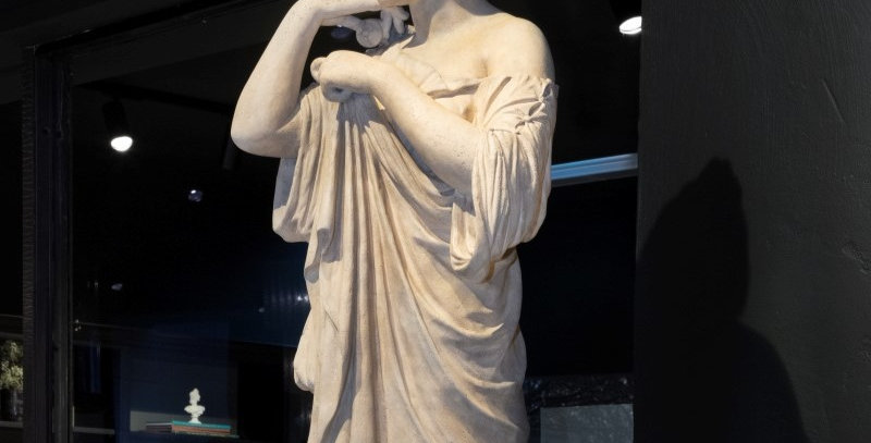Statue of Diana de Gabies by J M Blashfield, 1870