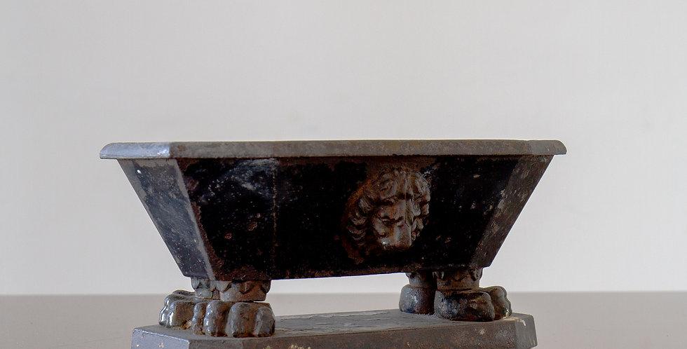 Small 19th Century Enamelled Iron Bath, circa 1850