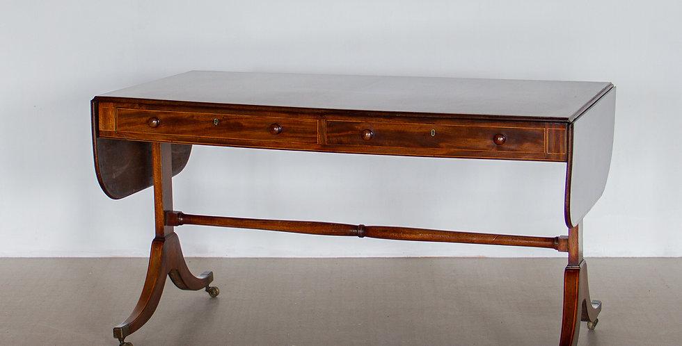A Late Regency Mahogany Sofa Table, circa 1850