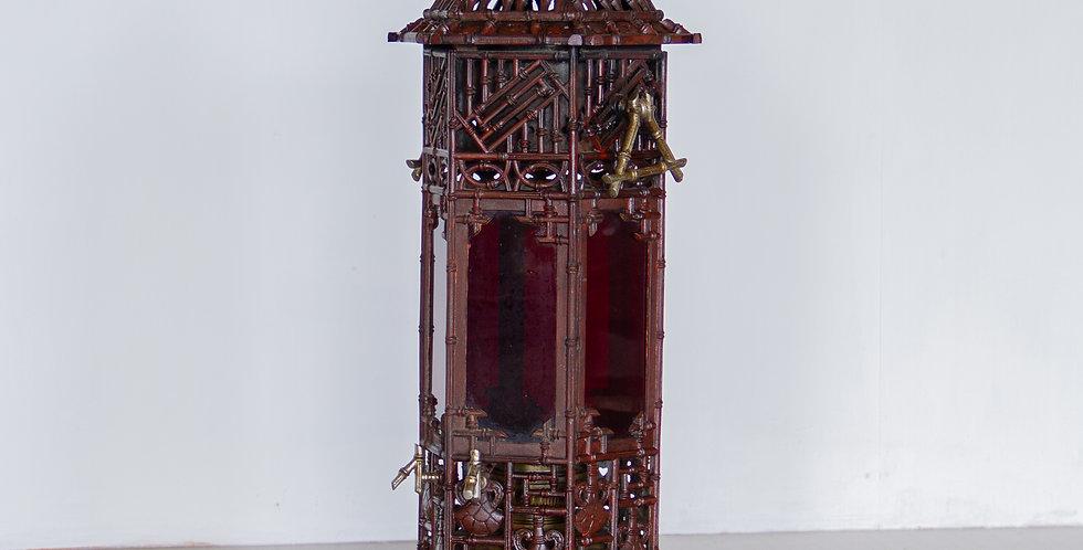 A Rare Ornate French Cast Iron Conservatory Heater, circa 1880