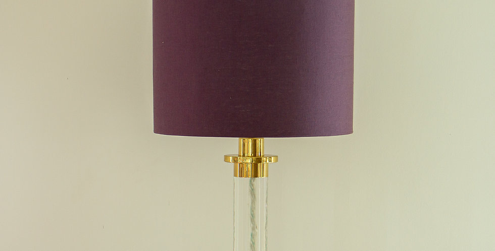 Frederick Cooper Lucite Column Lamp, 1970s