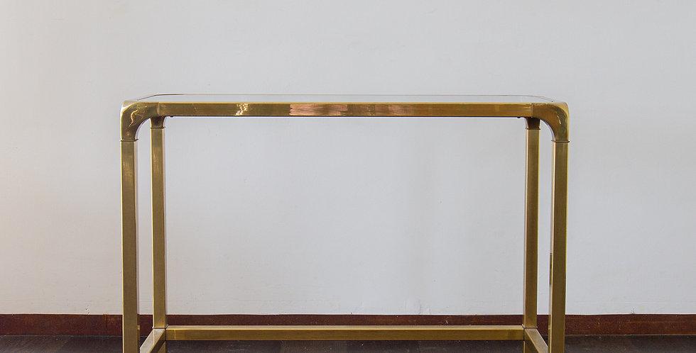 A John Widdicomb designed Brass Console Table 1970s