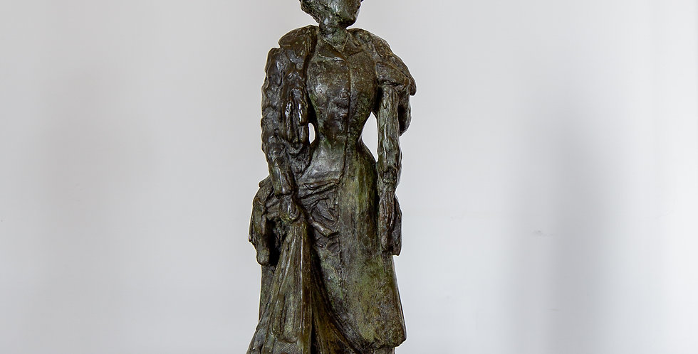 A Late 19th Century French Bronze Figure by P. Moreau-Vauthier