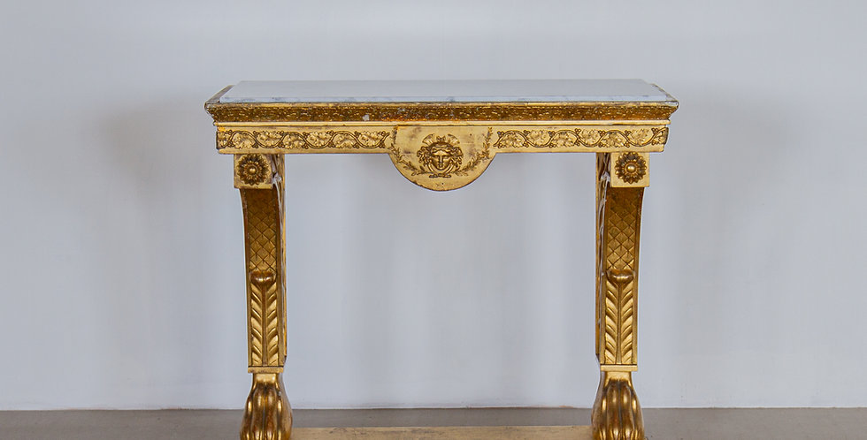 An Early 19th Century Giltwood Console Table