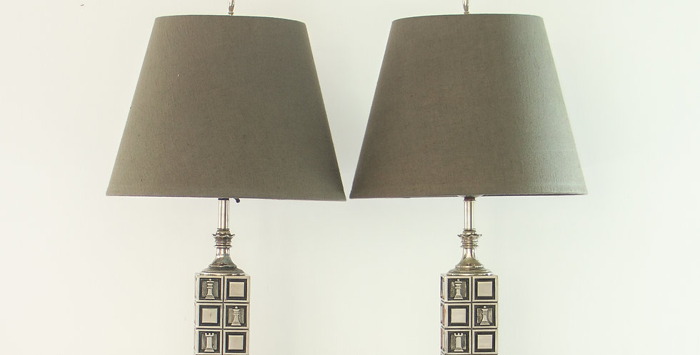 Pair of Rembrandt designed Lamps 1950s
