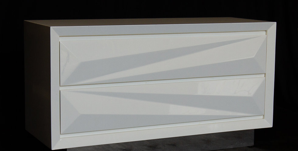 A Lacquered Asymmetrical Commode