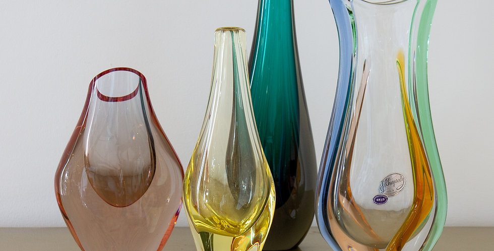 A Group of Four Heavy Vases