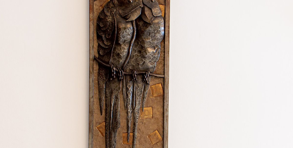 A Sculptural Wall Mirror by Michel Zadounaïsky, circa 1930