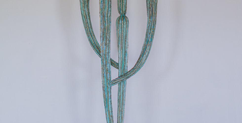 A Sculptural Cactus by Alain Chervet, 1987 titled 'Tikal'