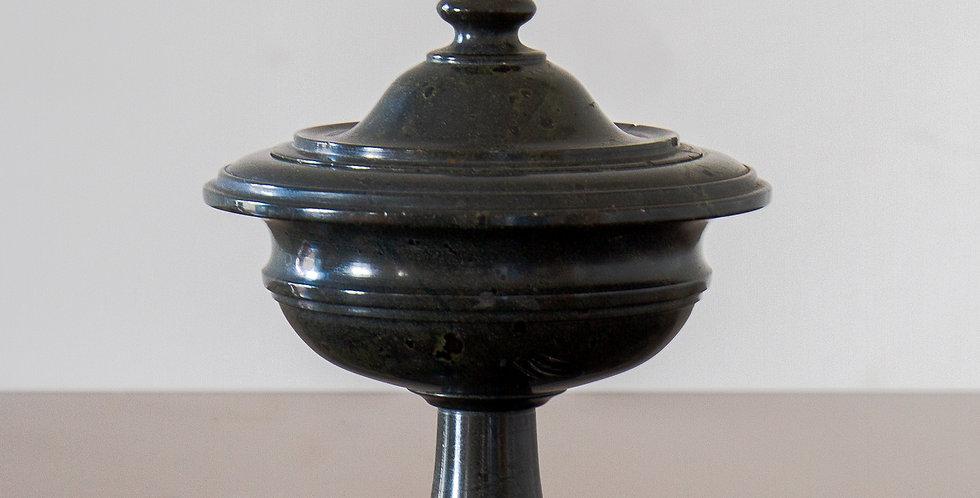 An Early 19th Century Italian Marble Lidded Urn