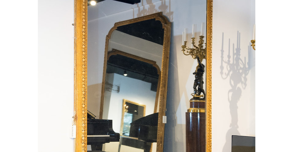 Substantial Mid 19th Century Gilt Wood Mirror