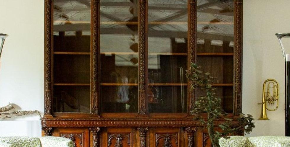 A Large Victorian Bookcase circa 1870