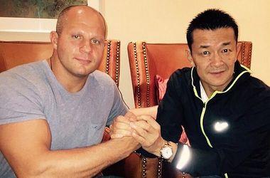 Rizin FF планирует организовать бой Федора Емельяненко и Вандерлея Сильвы