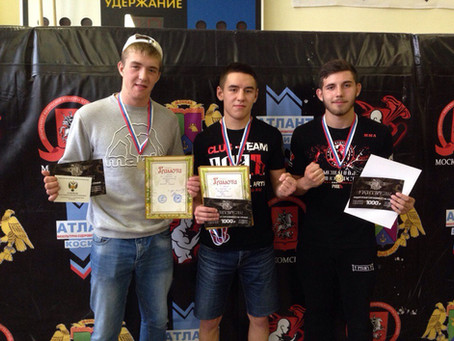Наша молодежь завоевала три медали на турнире по панкратиону!