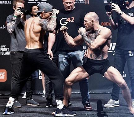 UFC планируют трилогию МакГрегор - Порье