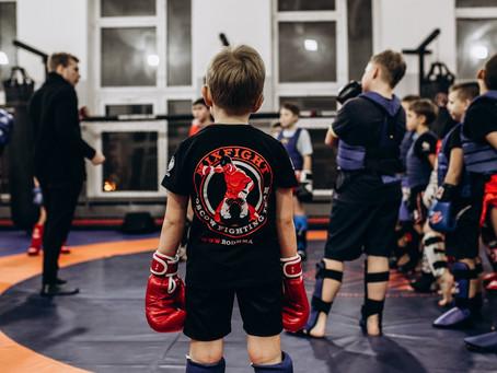 Тренировки детских групп в Люберцах