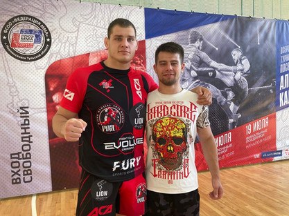 Итоги выступления наших бойцов на Всероссийском турнире памяти МС Алексея Калинина