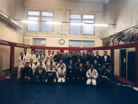 В субботу в нашем клубе прошел семинар по Бразильскому Джиу Джитсу от Станислава Варшавского