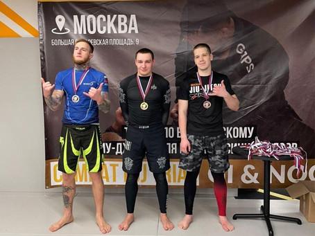 Наш боец Николай Мартынов завоевал золотую медаль турнира «Combat BJJ Trial Gi & Nogi»