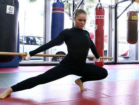 Ронда Роузи приступила к тренировкам, впервые после поражения от Холли Холм
