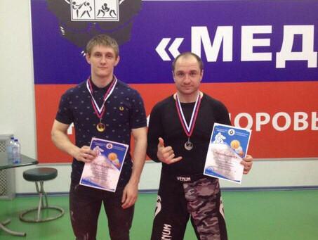Результаты выступления наших бойцов на Открытом турнире по грепплингу, прошедшем в городе Щелково МО
