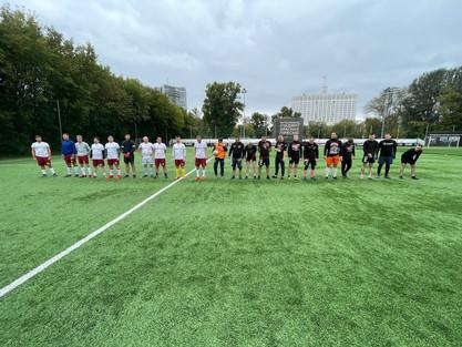 Итоги товарищеского матча по футболу!!!