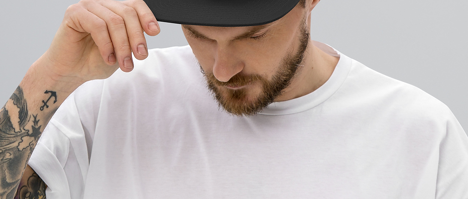 Just Press Record EMBROIDERED Snapback Hat