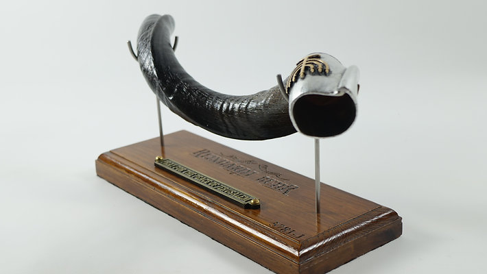 Small Shofar + Stand (Key of A)