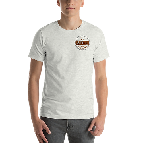 Be Still Printed Unisex T-Shirt (Earthy Colours)