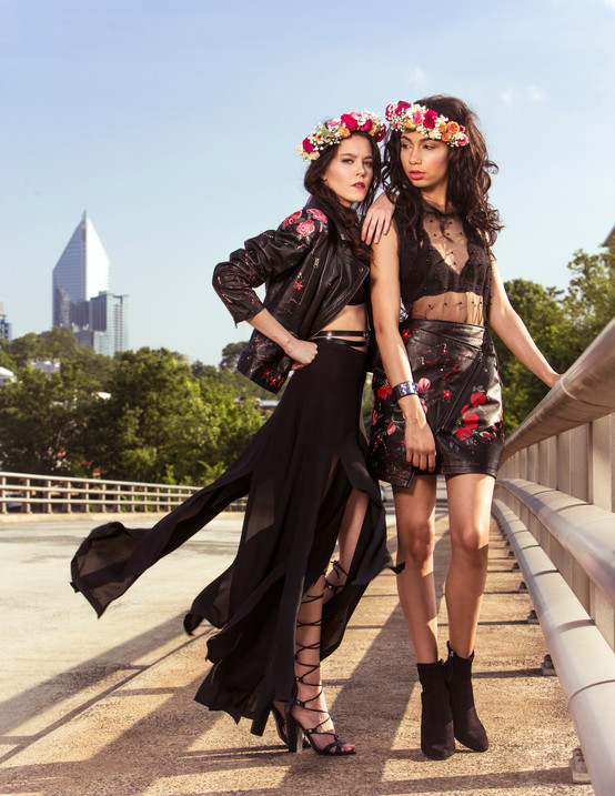 Models: Jordane Reid, Sandy Stirrup, Camie Ragsdale, photography Katherine Kirchner