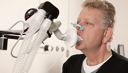 spirometry lung function test filter nose clip patient respiratory