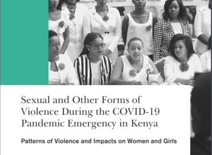 Sexual and other forms of violence during the COVID-19 pandemic in Kenya