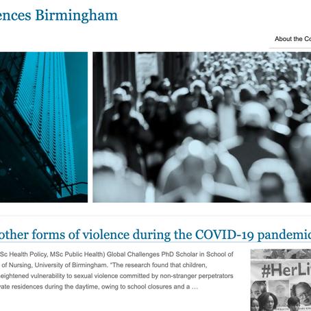 University of Birmingham publishes blog post on new Kenya COVID-19 report