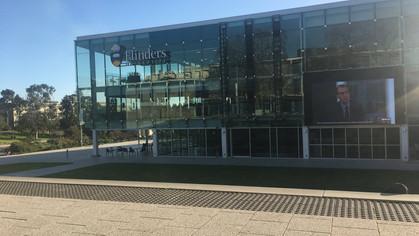 Danielle Hett visits the University of Flinders, South Australia