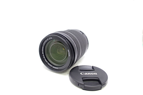lente 18-135mm Canon Serie 1 EF-S